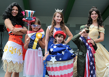 patriotic costume contest on July 4 in Bel Air